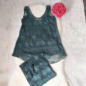 Vintage 90's Victoria Secret Lingerie Pajama